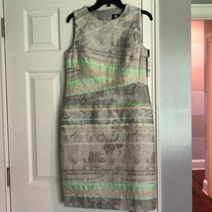 W by Worth multicolor sleeveless dress 8